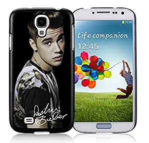 New Unique DIY Antiskid Skin Case For Samsung S4 Justin Bieber Samsung Galaxy S4 Black Phone Case 214