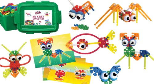 51SwLk%2BnXiL - K'NEX Education - Kid K'NEX Group Building Set - 131 Pieces - Ages 3+ - Preschool Educational Toy