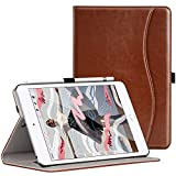 Ztotop for New iPad Mini 5th Gen Case 2019 7.9-inch, Premium Leather Slim Folio Stand Smart Cover Case for iPad Mini 5 2019 with Auto Sleep/Wake, Wallet Pocket, Pencil Strap Holder - Brown