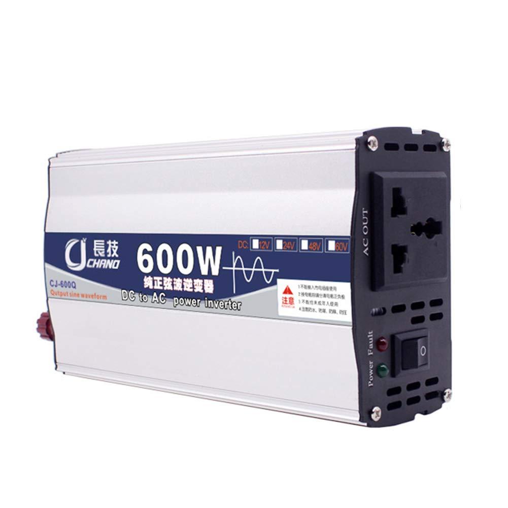 600W 1000W 12V 24V a 220V Convertitore di Tensione di Alimentazione per Auto Adattatore per Camion RV Uso Domestico 12V1000W MElnN Inverter a Onda sinusoidale Pura