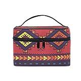 Cosmetic Case Bag Classic Africa Art Portable Travel Makeup Bag Toiletry Organizer