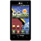 LG Lucid 4G VS840 Verizon CDMA Cellphone, 8GB, Black