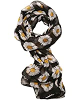 Women's Fresh As A Daisy Sheer Scarf