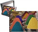 Photo Jigsaw Puzzle of Holi powder paint for sale in Mysore, Karnataka, India