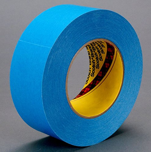 (3M 17650-case Repulpable Super Strength Single Coated Tape R3177, 36 mm x 55 m, Blue (Pack of 24))