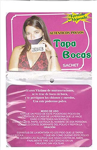 from: SUPER FAST SHIPPER HIBISCUS EXPRESS, http://www.amazon.com/shops/AXD9LOVGJXES3 TAPA BOCA POLVO ESPIRITUAL - SHUT UP SACHET POWDER by from: SUPER FAST SHIPPER HIBISCUS EXPRESS, http://www.amazon.com/shops/AXD9LOVGJXES3 (Image #4)