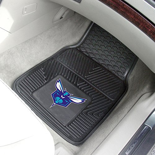 NBA - Charlotte Bobcats Heavy Duty 2-Piece Vinyl Car Mats ()