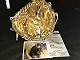 Byron Buxton Minnesota Twins Autographed Signed Mini Gold Glove JSA WITNESS COA