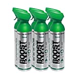 95% Pure Oxygen by Boost Oxygen - Portable Canister of Supplemental Oxygen - Increases Endurance, Recovery and Performance - 10 Liter Canisters - 6 Pack (Natural)