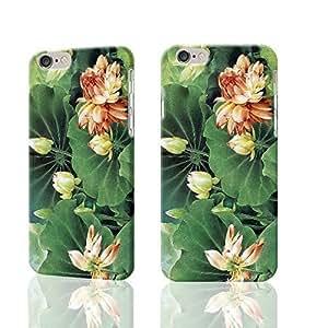 Green Leaf and Elegant Lotus 3D Rough iphone 5c es Case Skin, fashion design image custom iPhone 5c - 5c es , durable iPhone 5c hard 3D case cover for iphone 5c, Case New Design By Codystore