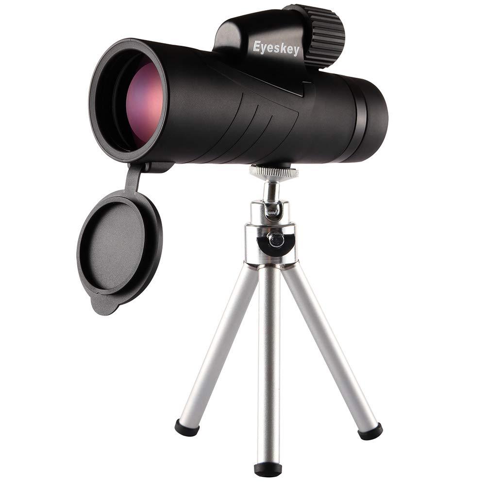 【海外輸入】 CompraJunta 単眼鏡 望遠鏡 10x50m HD スポッティングスコープ 単眼鏡 角度付き三脚と電話マウント付き ハイキング キャンプ サッカーゲーム コンサートやバードウォッチングに最適   B07KZDNGSS, 富久屋本店 b4ddbe66