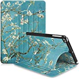 """Fintie iPad 9.7 Inch 2018 2017 / iPad Air 2 / iPad Air Case - [Multiple Secure Angles] Slim Magnetic Kickstand Cover Auto Sleep/Wake Feature for iPad 9.7"""" (6th Gen, 5th Gen), Blossom"""