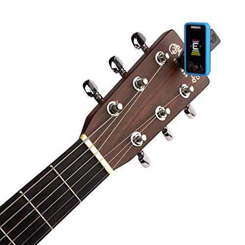 D'Addario Accessories Eclipse Headstock Tuner, Blue by Planet Waves (Image #1)