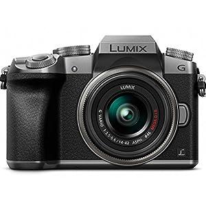 51SwPMz%2Bc4L. SS300  - Panasonic LUMIX G7KS 4K Mirrorless Camera, 16 Megapixel Digital Camera, 14-42 mm Lens Kit, DMC-G7KS