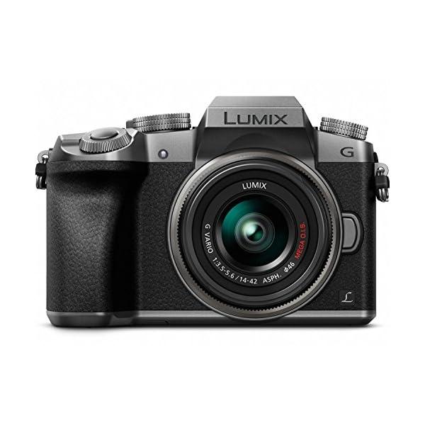 51SwPMz%2Bc4L. SS600  - Panasonic LUMIX G7KS 4K Mirrorless Camera, 16 Megapixel Digital Camera, 14-42 mm Lens Kit, DMC-G7KS