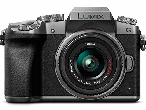 PANASONIC LUMIX G7 4K Mirrorless Camera, with 14-42mm MEGA O.I.S. Lens, 16 Megapixels, 3 Inch Touch LCD, DMC-G7KS (USA SILVER) (Best Budget Full Frame Mirrorless Camera)