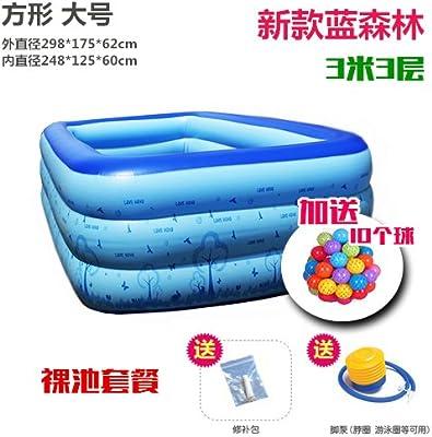 yingtan hinchable, baño, baño, piscina hinchable cuadrado barril ...