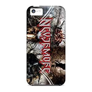AlainTanielian Iphone 5c Great Cell-phone Hard Covers Customized Trendy Nevermore Band Series [kTo9526LSKh]