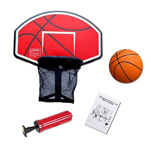 Merax Trampoline Parts: The Best Trampoline Basketball Hoop Products 2017