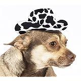 Rubies Costume Co Cow Print Cowboy Hat Dog Costume, Small/Medium