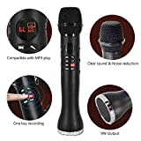 New Edify Ltd Wireless Bluetooth Microphone & Speaker Profissional Karaoke Mic