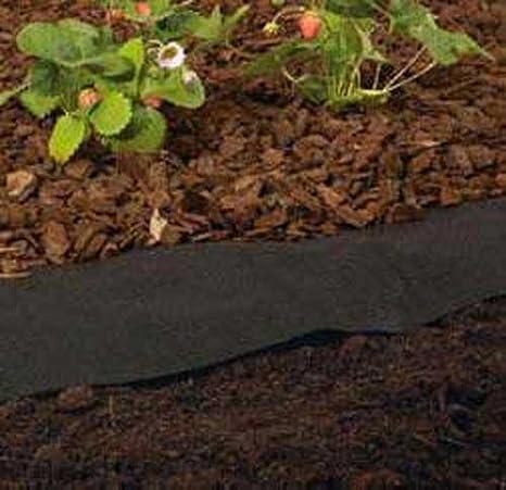 Vellón 8 m de largo de polipropileno, Jardín De malas hierbas malas hierbas, permeable (LHS): Amazon.es: Jardín