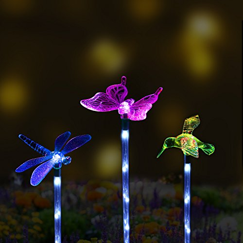 Butterfly Solar Powered Garden Lights - 3