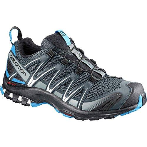 (Salomon Men's XA Pro 3D Trail Running Shoes, stormy weather, 12 M US)