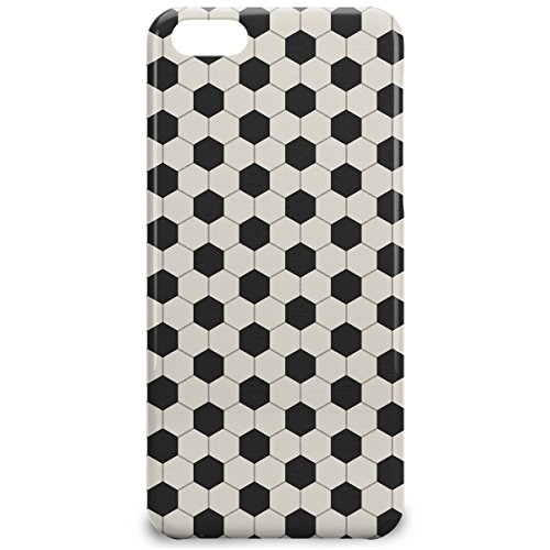 Phone Case For Apple iPhone 5C - Soccer Ball Snap-On Lightweight
