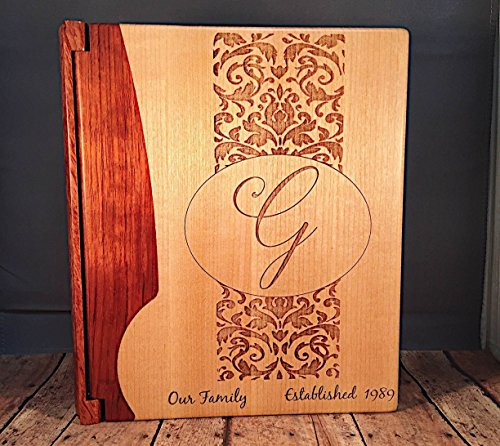 Laser Engraved Photo Album - Personalized