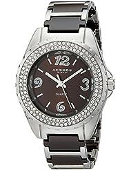 Akribos XXIV Womens AK514BR Ceramic Crystal Bracelet Watch
