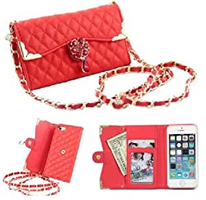 iPhone 5C case,iphone 5C cases,iPhone 5C leather case,Creativecase Carryberry case for iphone 5C fashion bandbag wallet and leather design case with flip ID card Case cover For iPhone 5C