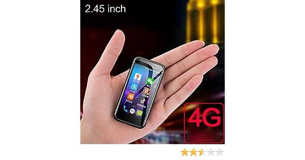 JJA 2019 Melrose S9 PLUS Super Mini Pocket Smartphones Playstore 4G LTE Ultra delgado Android 7.0 Celular 2.45 pulgadas 2GB RAM, 8GB ROM Blanco: Amazon.es: Electrónica