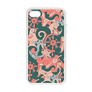 Grunge Anchor Design Case for iPhone 5 5s case cover
