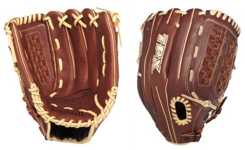 Louisville Slugger 125 Series Ball Glove (Left Hand, (Tpx Leather Outfield Glove)