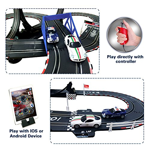 AGM slot car set with racing assistant APP No.ASR-01 1:43 scale by AGM (Image #5)