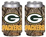 packers can holder - NFL Football Vista Camo Beer Can Kaddy Collapsible Koozie Holder 2-Pack - Pick Team! (Green Bay Packers)