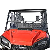 Honda Pioneer 1000 Full Folding Scratch Resistant UTV Windshield.The Ultimate in Side By Side Versatility!Premium polycarbonate w/ Hard Coatmade in America!!