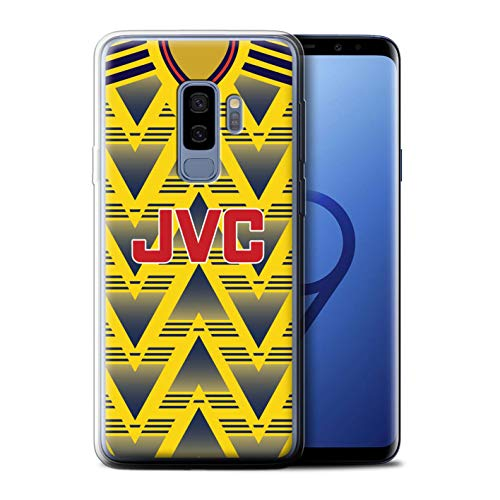 Phone Case/Cover for Samsung Galaxy S9 Plus/G965 / Arsenal 1991 Away Design/Retro Soccer Jersey/Shirt Division 1 Collection