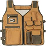Hawk 23.5'' X 20'' Full Adjustable Nylon Camping Vest With Many Pockets: NB-10196