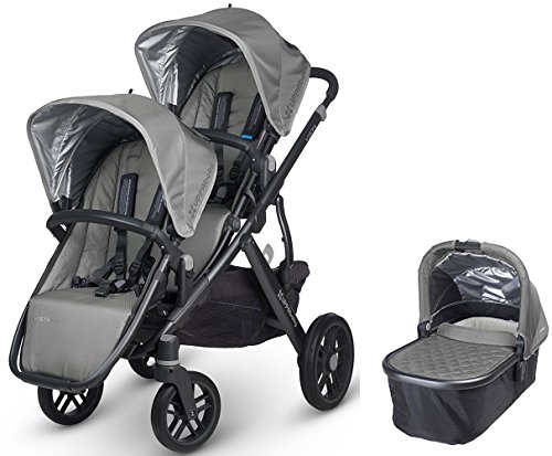 UPPAbaby 2017 0317-PAS Pascal VISTA Double Stroller Kit w...