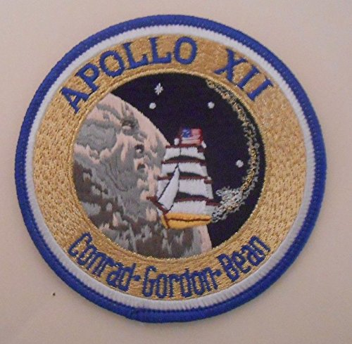 Apollo 12 Mission Patch Official Nasa Edition (Sticker Crest)