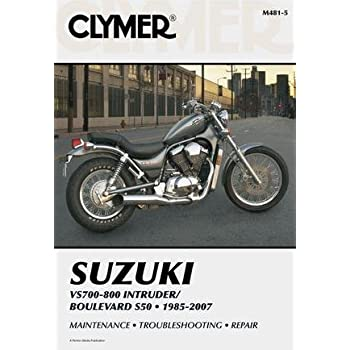 amazon com clymer repair manual for suzuki vs700 vs750 vs800 85 07 rh amazon com suzuki vs 750 service manual Suzuki GS850