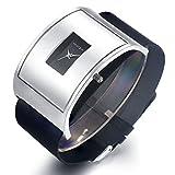 Casual Silver Watches for Men Women Fashion Design Wrist Watch & Unique...