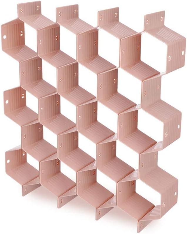 NA. RipengPI Organizador divisor de cajones 8pcs DIY rejilla de plástico nido de abejas cajón divisor caja caja