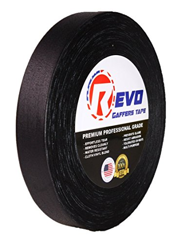 revo-premium-professional-gaffers-tape-1-x-60-yards-made-in-usa-black-gaffers-better-than-duct-tape-