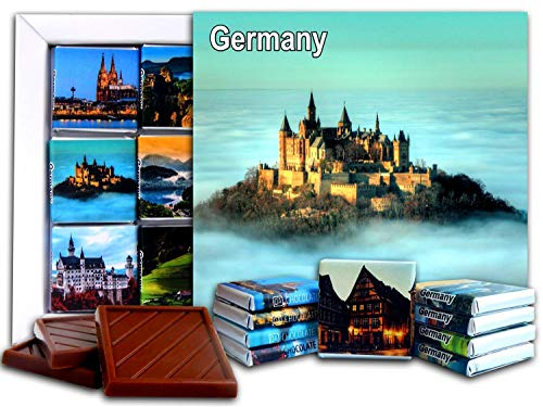 DA CHOCOLATE Candy Souvenir GERMANY Chocolate Gift Set 5x5in 1 box (Castle Prime 2) (0186)