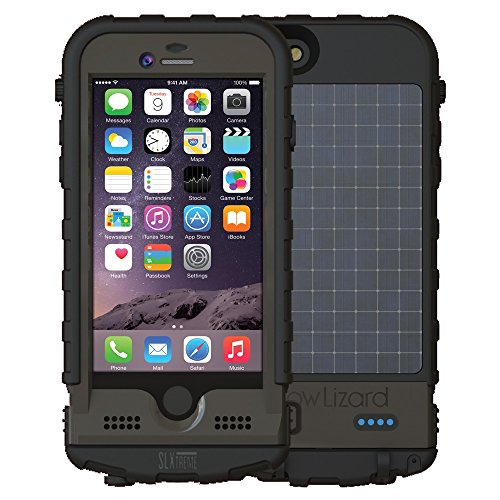 Snow Lizard Products SLXtreme Case for iPhone 6, Night Black by Snow Lizard Products