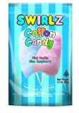 Taste of Nature Inc. Swirlz Cotton Candy 2.1 - Ounce Bags (Pack of 24)