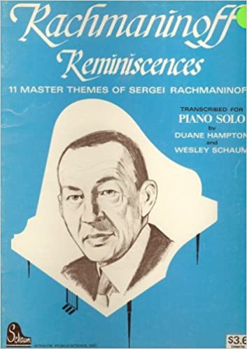 best of rachmaninoff for piano solo 11 master themes of sergei rachmaninoff